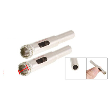 New Hotsale Promotion 8mm Dia Diamond Tipped Drill Bit Tile Glass Hole Saws 2 Pcs