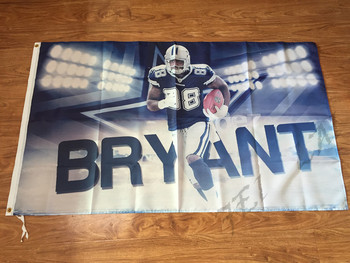 3x5ft Dallas Cowboys bayrak oyuncu tony romo bayrağı Metal Grommets ile